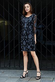 Šaty - Strieborná kráska - 10011995_