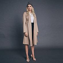 Kabáty - Plášť s opaskom - 10009391_