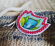 Odznaky/Brošne - Malý na kabát - 10010622_