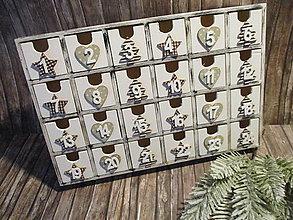 Krabičky - Adventný kalendár - 10008518_