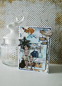 Papiernictvo - Vianočná pohľadnica WINTER SOUL - 10009032_