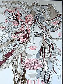 Kresby - Kresba - Woman III - 10008241_