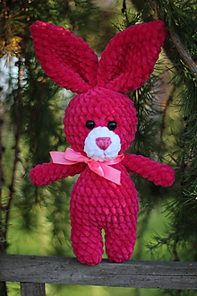 Hračky - Jemnučký zajko - 10008238_