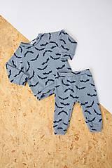 Detské oblečenie - Tepláky - Netopýři - 10008297_