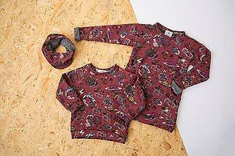 Detské oblečenie - Dětská mikina - Girl Gang - 10008263_
