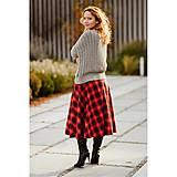 - sukňovice zo škótskeho kára