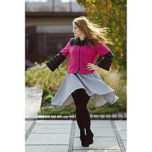 Sukne - asymetrická sukňa