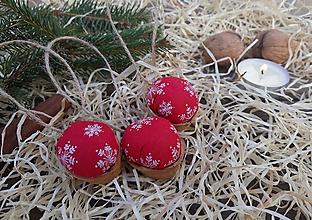 Dekorácie - Vianočné oriešky - 10011940_