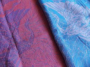 Textil - Luluna Geo Fly Blue Naranja - 10009804_