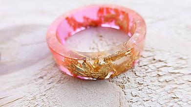 Prstene - Živicový prsteň - 10008557_