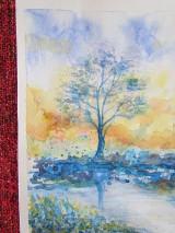 Obrazy - Modré ráno / Blue morning - Originál - 10008221_