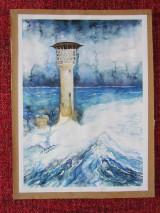Obrazy - Maják / Lighthouse - Originál - 10008306_