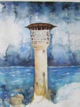 Obrazy - Maják / Lighthouse - Originál - 10008311_