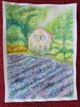 Obrazy - Provensálsko / Lavender Field - Originál - 10008544_