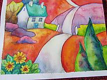 Obrazy - Jesenný dvojobraz/ Autumn diptych - Originál - 10009161_