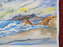Obrazy - Pobrežie II. / Coast II. - Originál - 10009615_