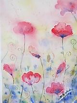 Obrazy - Makový sen / Dreamy poppies - Originál - 10009729_