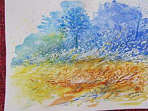 Obrazy - Vo vetre / In the wind - Originál - 10008477_