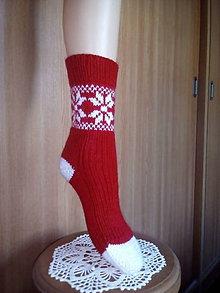 Obuv - ponožky vianočné - 10011803_