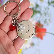 Kľúčenky - moja rodina, moje srdce - 10008700_