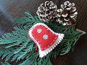 Drobnosti - vianočný zvonček - 10014767_
