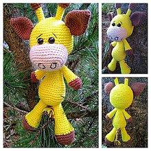 Hračky - Malá žirafka - 10013624_