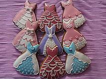 Dekorácie - medovníkové rozprávkové šaty - 10016240_