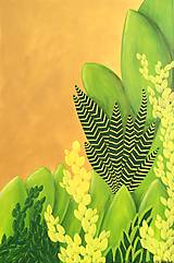 Obrazy - Obraz Gold Garden - 10016292_
