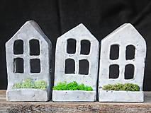 Svietidlá a sviečky - RAKU domček - svietnik - 10012925_