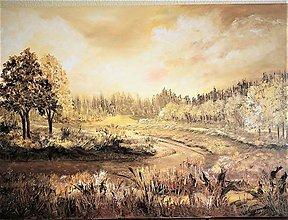 Obrazy - V zlatom údolí - 10014325_