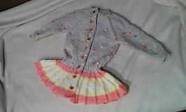 Detské oblečenie - dievčenská vesta 2 - 10012478_