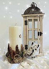 Svietidlá a sviečky - Vianoce na horách - 10013982_