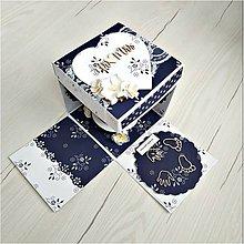Papiernictvo - Krabička na peniaze - 10014170_