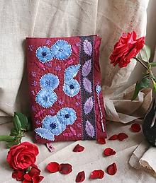 Nezaradené - Vyšívaný obal na knihu Čakanky - 10014207_