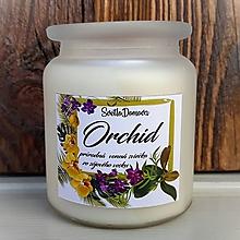 Svietidlá a sviečky - Vonná sviečka zo sójového vosku v skle - Orchid - 250g/70hod - 10012841_