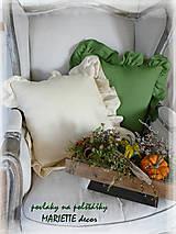 Úžitkový textil - lněný povlak AUTUMN ROMANCE - 10016182_