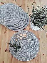 Úžitkový textil - Prestieranie Scandinavia svetlošedé - 10013144_