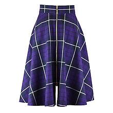 Sukne - sukňa s výrazným zipsom