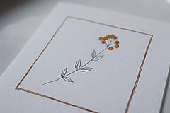 Papiernictvo - Pohľadnica // Nežná jeseň I. - 10013819_