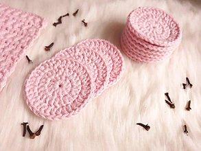 Úžitkový textil - Odličovacie tampóny a umyvacia žinka - 10012934_