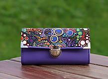 Peňaženky - Peněženka bubliny 19x10cm, 18 karet, na fotky - 10014135_