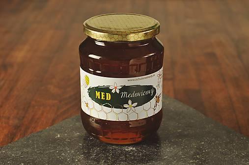 Med medovicový jedľovo-smrekový