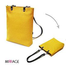 Batohy - Ava backpack n.5 kožené popruhy - 10014528_