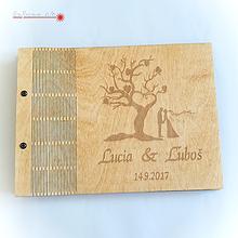 Papiernictvo - Kniha hostí - motív strom - 10016108_