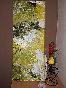 Obrazy - Príliv v žltom šate - 10015480_