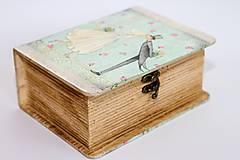 Krabičky - Keď zvonia svadobné zvony - krabica na fotografie a drobnosti - 10013836_