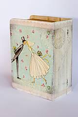 Krabičky - Keď zvonia svadobné zvony - krabica na fotografie a drobnosti - 10013837_