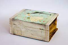 Krabičky - Keď zvonia svadobné zvony - krabica na fotografie a drobnosti - 10013838_
