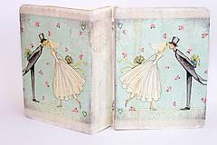 Krabičky - Keď zvonia svadobné zvony - krabica na fotografie a drobnosti - 10013841_