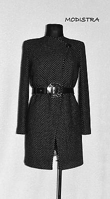 Kabáty - Bodkovaný kabát - 10016459_